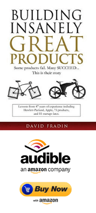 Building Insanely Great Products by David Fradin