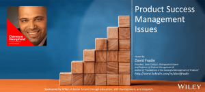 Product Success Management Issues - Clarence Hempfield - Episode - PSMI006