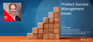 Product Success Management Issues - Mike Locy - Episode - PSMI005
